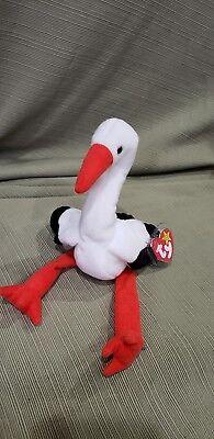 Ty Beanie Baby Beak 1998 5th Generation with Gasport Tag Error