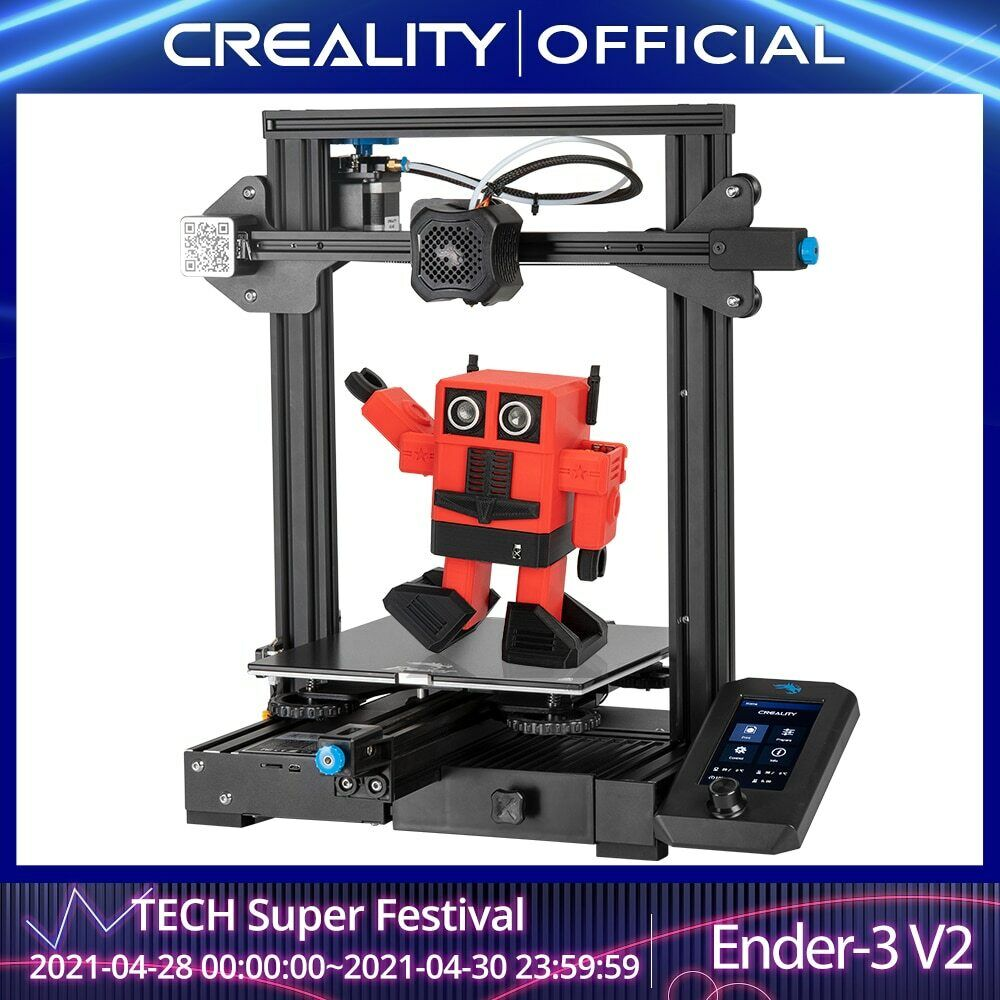 3D Ender-3 V2 Mainboard With silent TMC2208 Stepper Drivers New UI&4.3