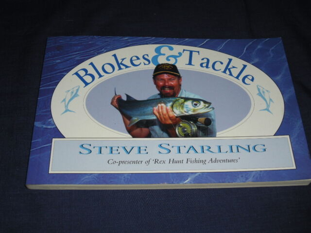 Fishing Book BLOKES & TACKLE Steve Starling