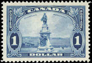 1935-Mint-H-Canada-VF-Scott-227-1-King-George-V-Pictorial-Stamp
