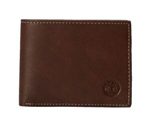 Timberland-Men-039-s-Blix-Slim-Bifold-Leather-Wallet