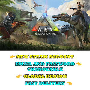 ARK-Survival-Evolved-New-Steam-Account-Global-Region-Fast-Delivery