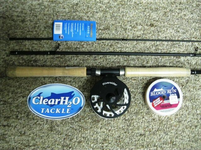 RIVERSIDER CENTERPIN COMBO 13' MEDIUM LIGHT 3PC W/ RIVER SIDER FLOAT REEL & LINE