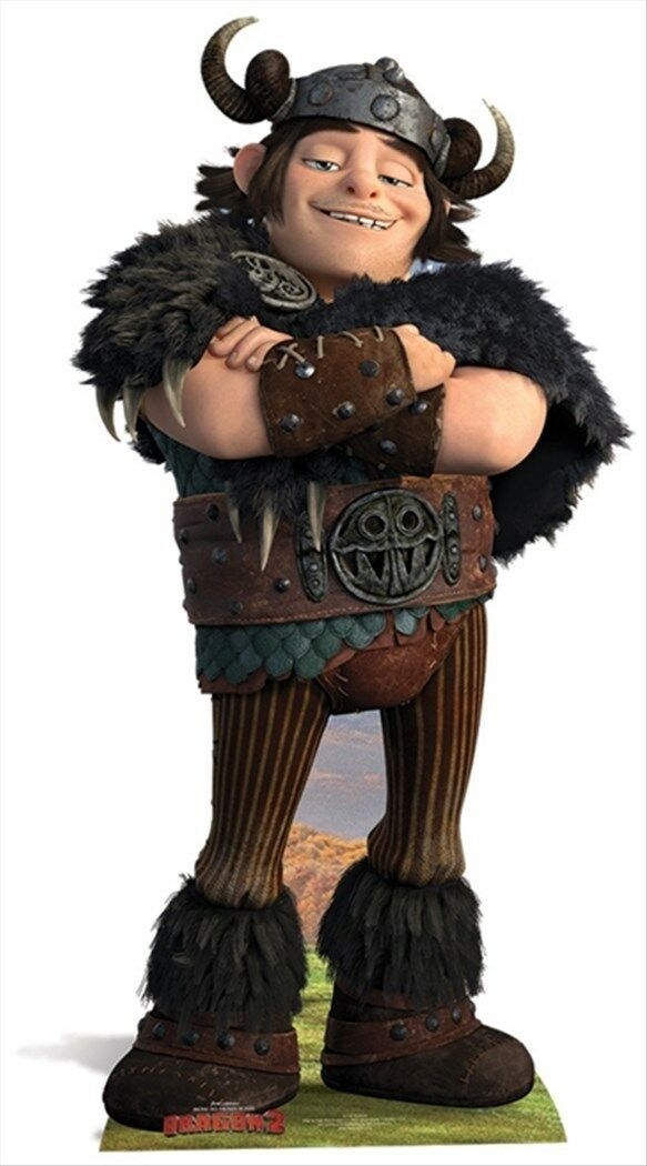 Snotlout How To Train Your Dragon 2 LifeGröße CARDBOARD CUTOUT standee standup