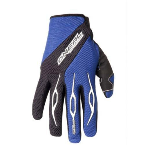 ONEAL MX MTB GUANTI BLU MOTO CROSS MOTO ENDURO BICI MOUNTAIN BIKE ATV