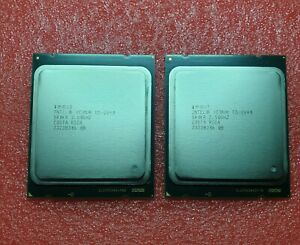 2x INTEL XEON E5-2640 CPU PROCESSOR 6 CORE 2.50GHZ 15MB L3 CACHE 95W SR0KR Pair