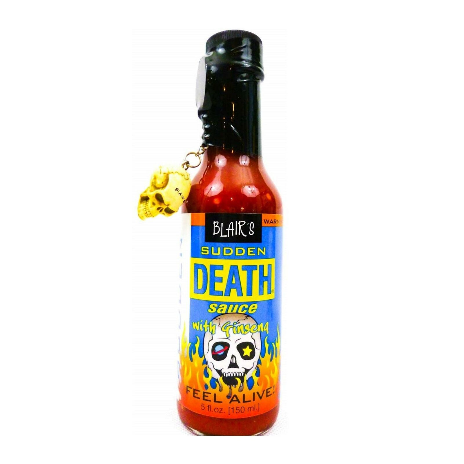 Sudden Death In A Coffin With Skull Extreme Hot Chilli Sauce By Blair S For Sale Online Ebay