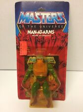 MOTU 1982 Man At Arms Vintage Masters Of The Universe He Man Carded Figure