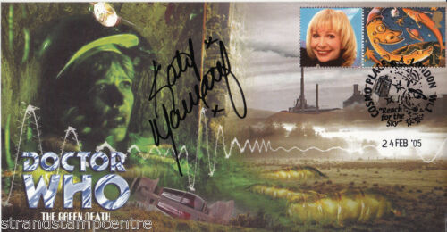 "/""The Green Death/"" Episode Dr Who Signed by KATY MANNING"