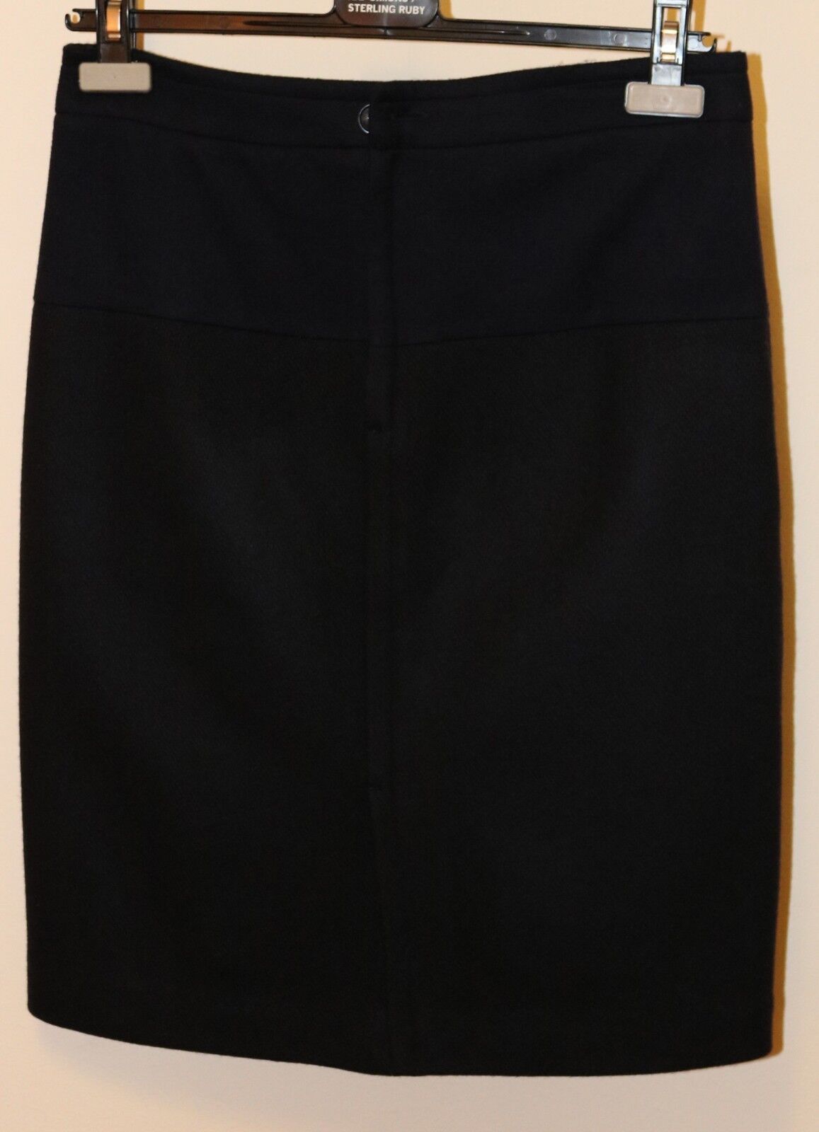 Stephan Schneider Wool Cashmere Two Tone Navy Skirt Size 2