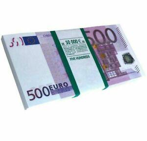 500-EURO-Nuovo-di-banconote-Souvenir-per-regalo-scherzi-Prank-Free-Shipping