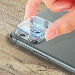 Objectif de caméra 9H pour iPhone 12, 11 Pro MAX Housse en verre trempé