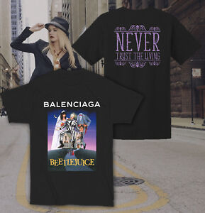Details about Beetlejuice Movie Mashup Fashion Bootleg Top Trending  Designer Tee HD15 T-Shirt