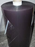 Pvc Folie Glasklar 1mm, Cabrio, Garden Fenster, Abdeckung, Br 0,53m Transparent