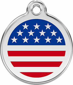 American-Flag-Engraved-Dog-Cat-ID-identity-Tags-discs-by-Red-Dingo-1US