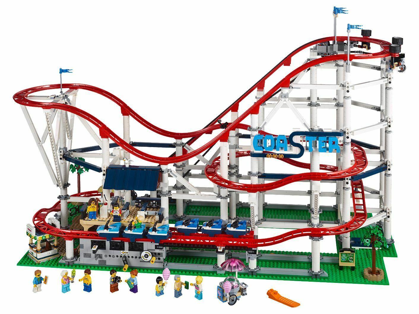 Nouveau Lego Creator Expert Roller  Coaster Set 10261  4000+ pieces BO  derniers styles