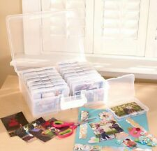 """IRIS Extra Large Photo Storage And Craft Keeper With 16 4""""x6"""" Cases Made in USA"""