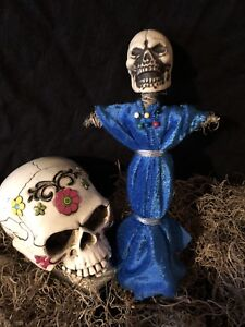 AUTHENTIC VOODOO DOLL BLUE-WITH PINS | eBay