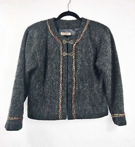 Vintage-County-Clothing-Womens-Medium-Wool-Blend-Cropped-Jacket-Gray