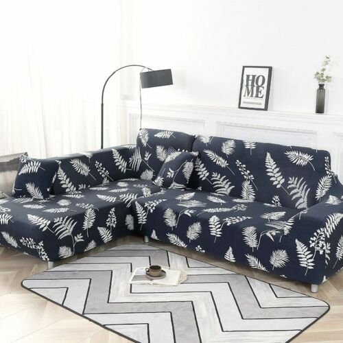 1//2piece Sofa Cover Elastic For Living Room Office Decor 2 Pieces L-shaped
