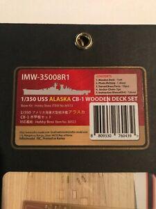 Infini-Models-1-350-USS-Alaska-Wooden-deck-unstained