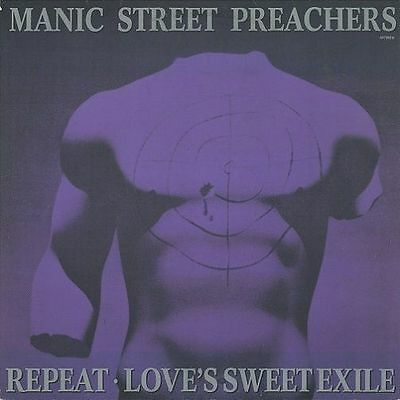MANIC STREET PREACHERS Repeat Vinyl Record 12 Inch Columbia 657582 6 1991 EX