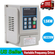 2hp 15kw 1 To 3 Phase Variable Frequency Drive Converter Vfd Speed Controller