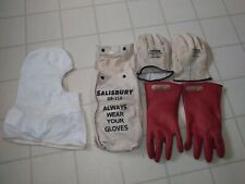 Salisbury Linemans Gloves Red Size 11 Type I Class 00 Length 10 Af Hood 15