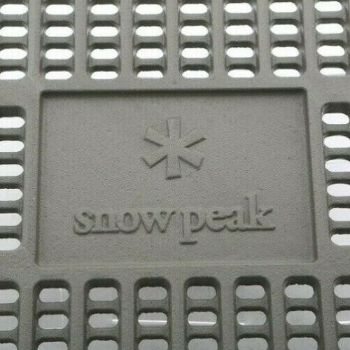 Snow peak charcoal bed Pro L ST-032S With Tracking