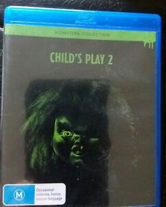 Details about CHILD'S PLAY 2 BLU RAY GENUINE AUSTRALIAN RELEASE REGION B AS  NEW RARE CHILDS