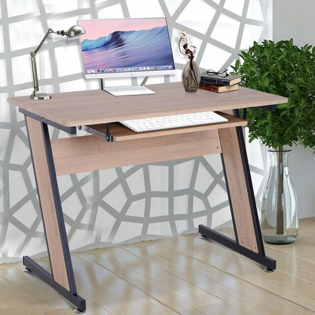 Swell Wood Top Corner Computer Desk Office Workstation Pc Laptop Study Table Download Free Architecture Designs Xoliawazosbritishbridgeorg
