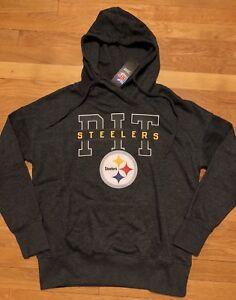 sale retailer 38618 4498a Details about Pittsburgh Steelers Womens Hoodie Medium NWT New Sweatshirt