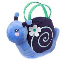 Gymboree Spring Prep Plush Blue Snail Purse Bag Girls Nwt New