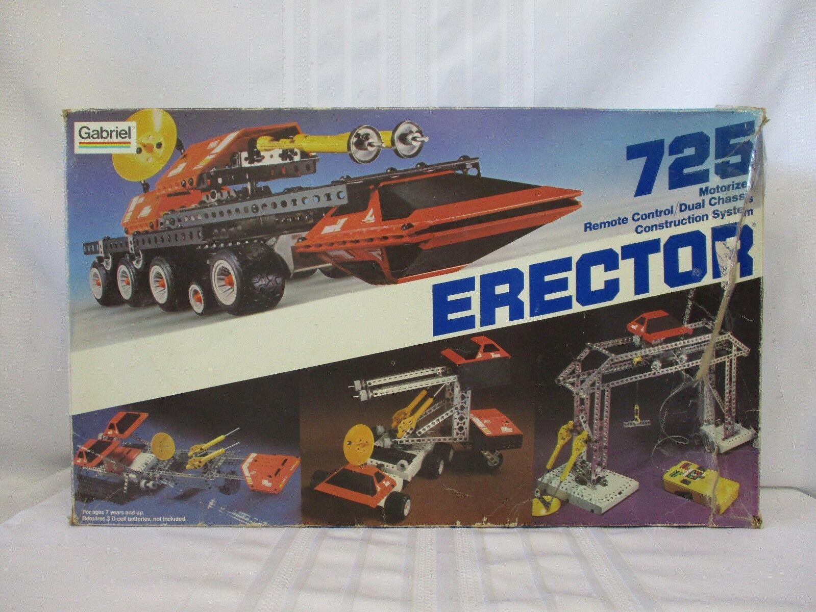 1981 Gabriel Erector Set Model 725