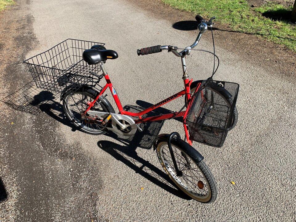 Handicapcykel, Monarch, 3 gear