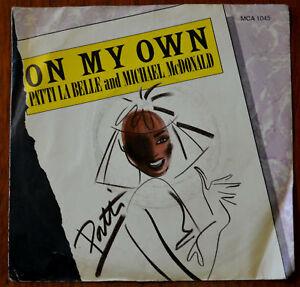 Patti-La-Belle-amp-Michael-McDonald-On-My-Own-7-MCA-1045