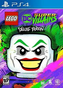 Lego-DC-Super-Villains-Deluxe-Edition-PlayStation-4-PS4-BRAND-NEW