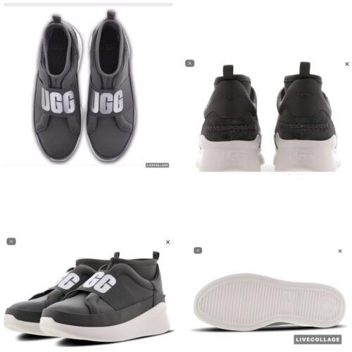 """Ugg® Zapatillas Bn Neutra """"color carbón Gris de 38 blanco"""" Uk5 y deporte Sneaker damas para oscuro rEUBrq4w"""