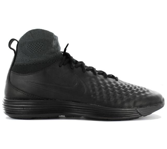 quality design 7b8d8 971f6 Nike Lunar Magista II FK Flyknit Sneaker Mens Shoes Trainers 852614-001 New