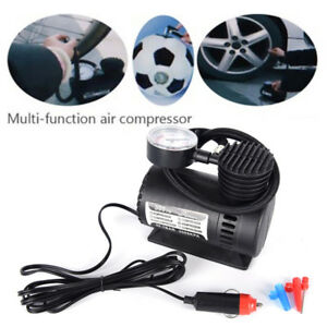 300Psi-12V-Mini-Auto-Voiture-Electrique-Gonfleur-Pneumatique-Pompe-ftfw