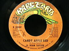 R. DEAN TAYLOR Candy apple red / woman alive RARE EARTH R5030F PSYCH FOLK