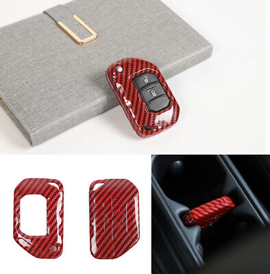 Key Fob Cover shell Case Protection for Jeep Wrangler JL ...