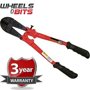 """14"""" 350mm Heavy Duty Hardened Carbon Steel Bolt Cutter Tool Wire Cable Cutting"""