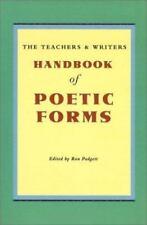 Handbook of Poetic Forms (2000, Paperback)