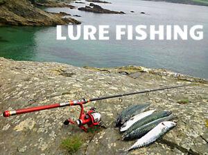 BADEO-TRAVEL-FISHING-ROD-amp-REEL-SET-inc-LINE-FREE-POST-3M-LENGTH-IDEAL-GIFT