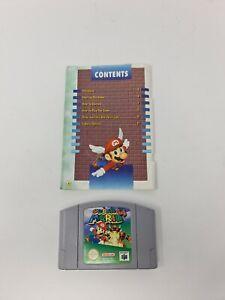 Mario Kart 64 Nintendo 64 N64 PAL Carro De Juego Y Manual (Manual dañado)