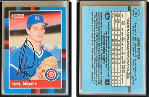 Jamie Moyer Signed 1988 Donruss #169 Card Chicago Cubs Auto Autograph