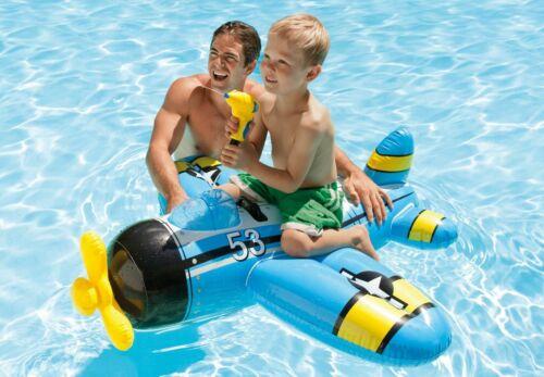 Piano Blu con Pistola D/'Acqua Gonfiabile Bambini Ride on Piscina Spiaggia giocattolo TY630