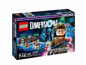 4-LEGO-Dimensions-Ghostbusters-Packs-71242-71233-71241-71228-COMPLETE-LOT-SET
