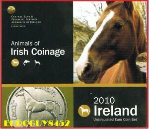 IERLAND - BU SET 2010 - PAARDEN